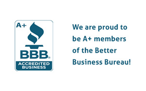 RAM heating and air are a+ members of the better business bureau